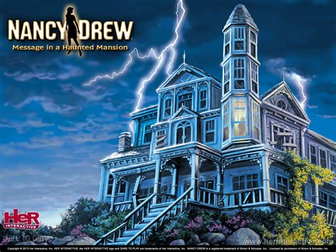 Buy Nancy Drew Message In A Haunted Mansion Her Interactive