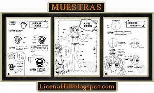 Guía de Dibujo Shoujo Comic School #1 Tecnicas Para Dibujar Manga Shoujo Licena Hill