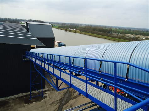 belt conveyors  waste management  bulk material handling