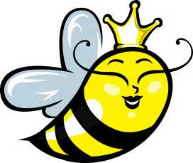 Cartoon Queen Bee Clip Art
