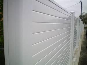 Panneau Pvc Blanc : impressionnant panneau brise vue pvc blanc avec panneau ~ Dallasstarsshop.com Idées de Décoration