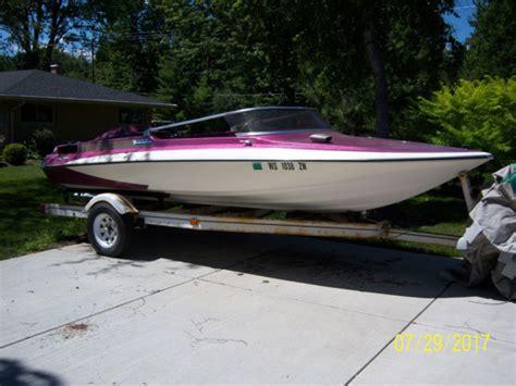 glastron carlson cv16 v8 boat color no reserve glastron 1975 for sale