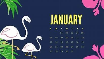 January Calendar Wallpapers Desktop Printable Screensavers Computer