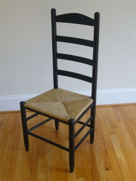 Morisette Ladder Back Chair with Rush Seat   Chairs