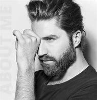 Men with Beards Long Hair Models