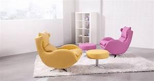 Fauteuil Pivotant Cuir : lenny fauteuil pivotant basculant cuir personnalisable sur ~ Teatrodelosmanantiales.com Idées de Décoration