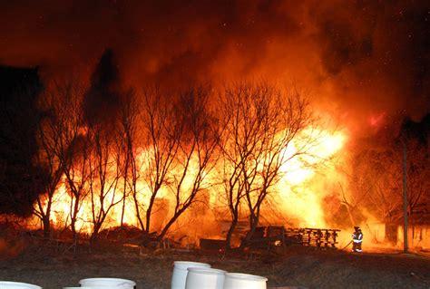 Massive Pickering Barn Fire Kills 4000 Racing Pigeons