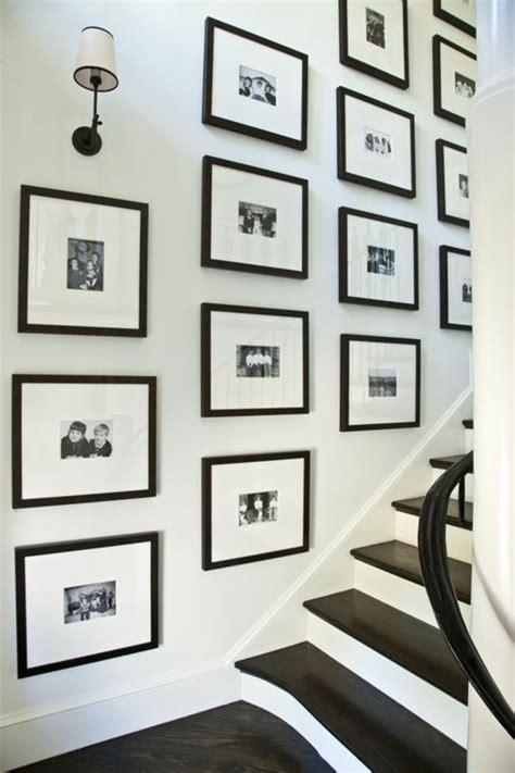 fotowand flur gestalten 55 ausgefallene bilderwand und fotowand ideen