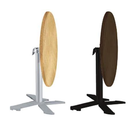 tavolo con ribalta pieghevole base per tavolo da bar in alluminio
