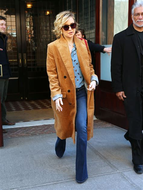 Styled Home Hudson by Kate Hudson Style Leaving Hotel In New York