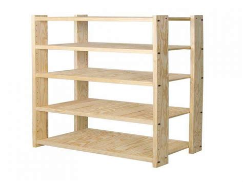 wood storage units wood shelving unit plans wood projects