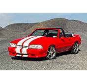 A Drop Top Fox Body 1992 Ford Mustang That's Hooked On
