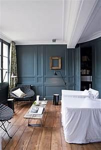Osez le bleu dans votre salon 7 photos de salons bleus for Choix des couleurs de peinture 15 osez une deco couleur bleu canard dans votre interieur