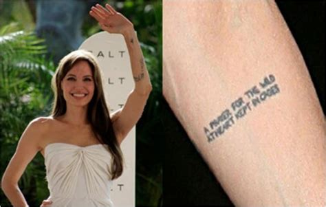 deep meaning    angelina jolies ink ritely