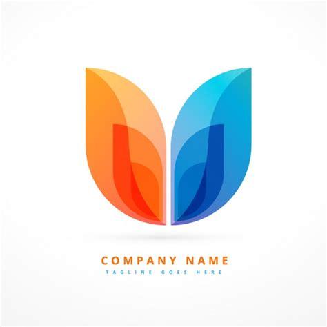 design logo free abstract colorful logo design vector free