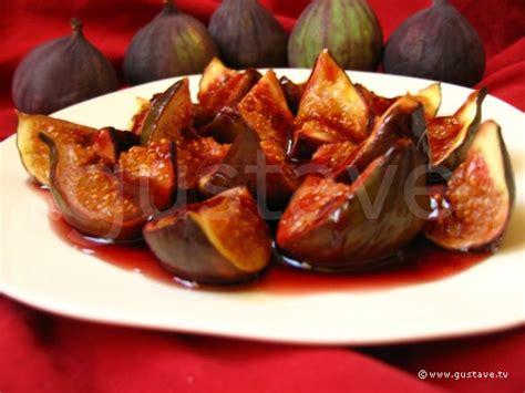 dessert figues fraiches miel figues au vin au miel et 224 la cannelle la recette gustave