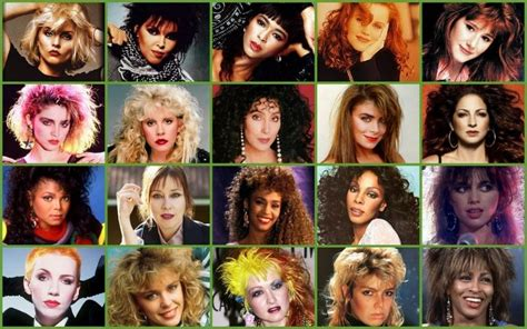 80s Female Singers Picture Click Quiz By Babymonkee