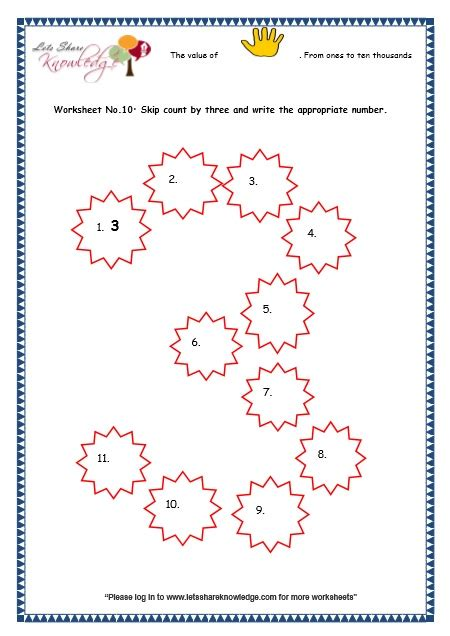 skip counting by 3 worksheets adriaticatoursrl