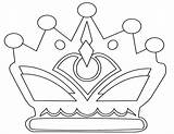 Crown Coloring Pages Crowns Template Printable King Kings Drawing Outline Royal Princess Templates Colouring Sheet Sheets Jewels Drawings Getdrawings Jetsons sketch template