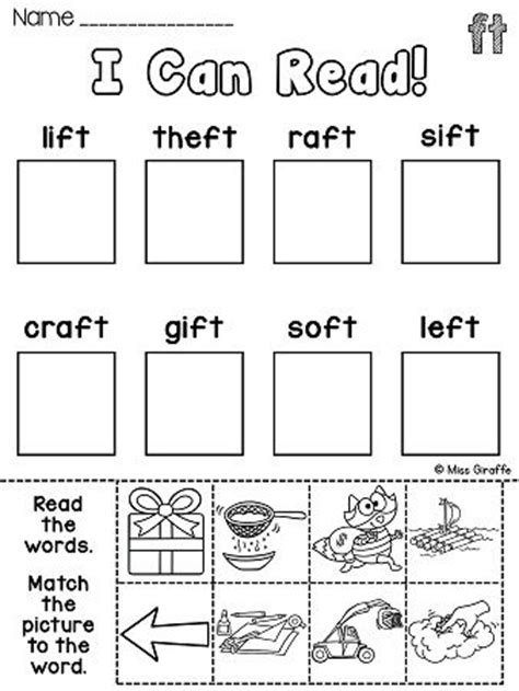 ending blends worksheets and activities activities