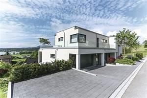 Stadtvilla Mit Garage : stadtvilla im bauhausstil mit garage weberhaus ~ A.2002-acura-tl-radio.info Haus und Dekorationen