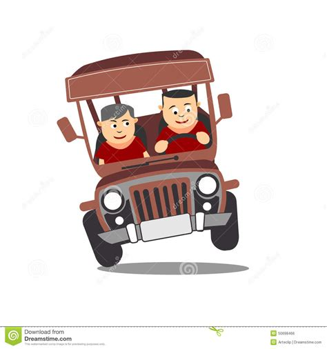 philippine jeep clipart philippine jeep cartoon stock illustration image of
