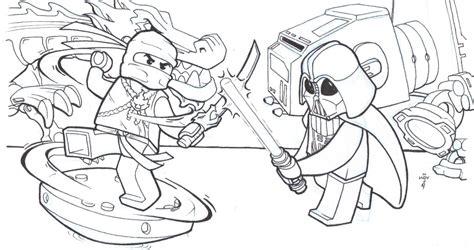 Ninjago Coloring Pages Kai
