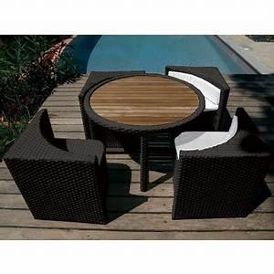 Table Pour Petit Balcon : petit salon jardin dans salon de jardin achetez au meilleur prix avec ~ Melissatoandfro.com Idées de Décoration
