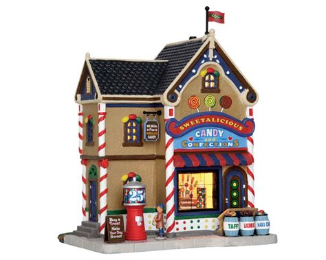 lemax village collection sweetalicious candy shop 55008