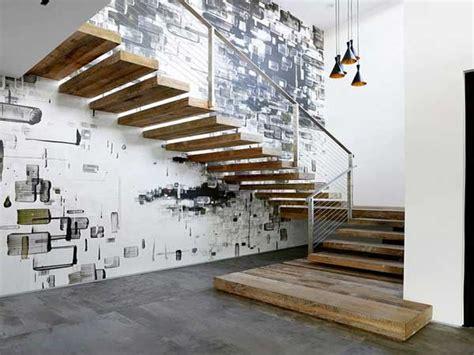 mur deco street art pour sublimer la cage descalier
