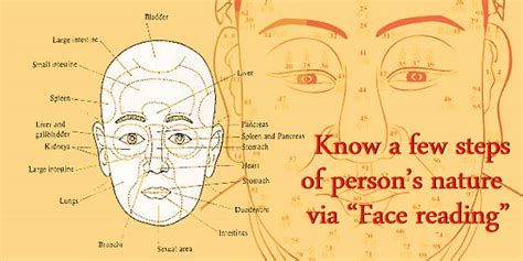 "Know A Few Steps Of Person's Nature Via ""face Reading"