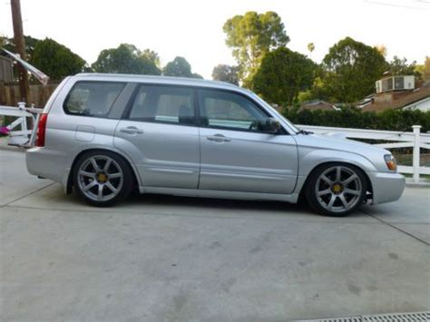 subaru 2004 slammed buy used 2004 subaru forester xt 5 speed stanced slammed