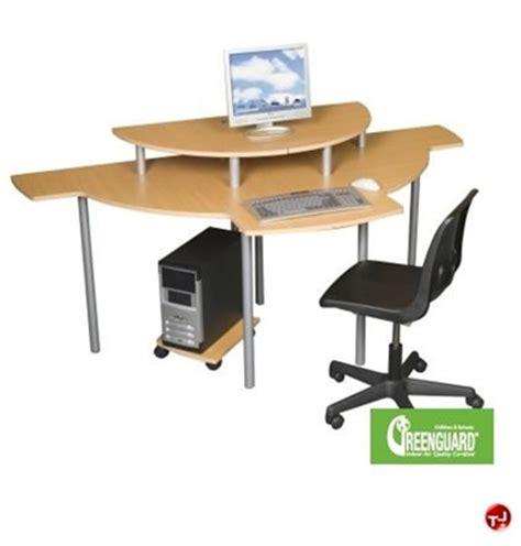 two person corner desk the office leader 2 person corner curve computer desk