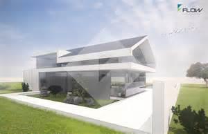 bauhaus architektur hã user einfamilienhaus modern satteldach ohne dachüberstand by http www flow architektur de portfolio