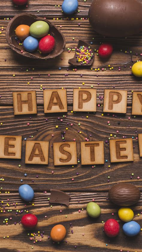 wallpaper easter eggs candy chocolate  holidays