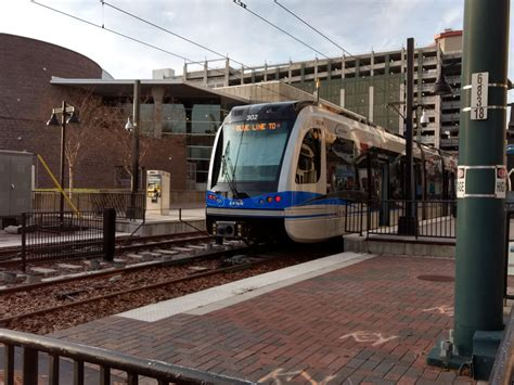 Blue Line Light Rail by Blue Line Extension Opens March 16 In Time For Ncaa