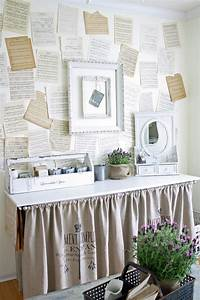 Beautiful, Shabby, Chic, Home, Office, Design, Ideas