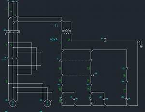 Flow Diagram Using Autocad