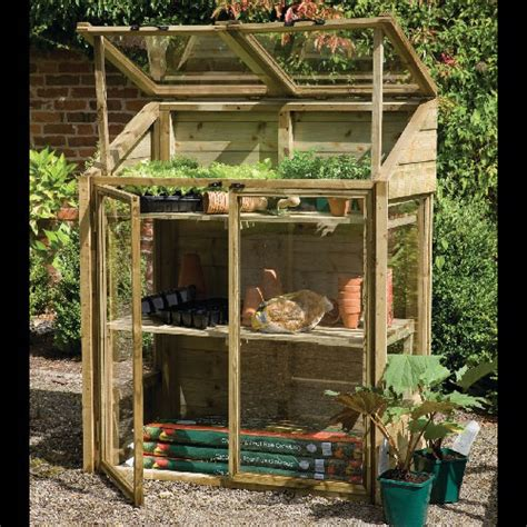traditional mini greenhouse