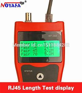 Noyafa Lcd Cable Tester Network Lan Ethernet Wire Tester