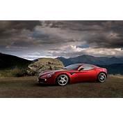 Alfa Romeo 8C Competizione Side Wallpaper Cars