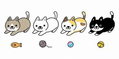 Clipart Cat Yarn Ball Cartoon Clip Calico