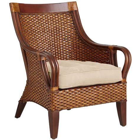 temani brown wicker chair in 2020 wicker chair chair