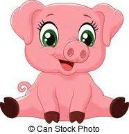 Baby pig Clip Art Vector Graphics. 1,576 Baby pig EPS ...