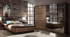 Günstige Schlafzimmer Komplett : schlafzimmer komplett 3 teilig doppelbett 180x200cm script ~ Watch28wear.com Haus und Dekorationen