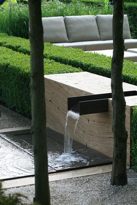 Moderner Garten Mit Wasser by Landscape Design Ideas Modern Garden Water Features