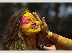 In Pictures The world celebrates the Holi festival of colours