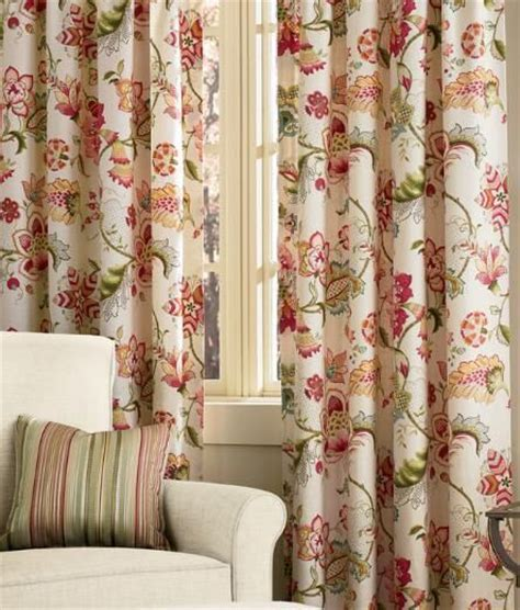jacobean floral lined rod pocket curtains 17 best images about fabrics i on