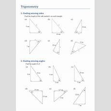 Trigonometry  Finding Missing Sides And Angles By Kirbybill  Teaching Resources Tes