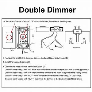 New Wiring Diagram Double Dimmer Switch